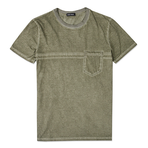 [Antony Morato]T SHIRT DIRTY WASH AMERICAN FIT MMTRF2125-804